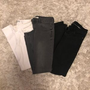 BUNDLE 3 pairs of Zara jeans